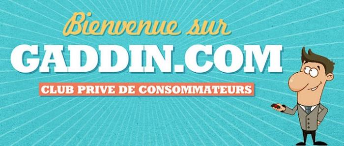 gaddin, le site rémunérateur pour arrondir ses fins de mois