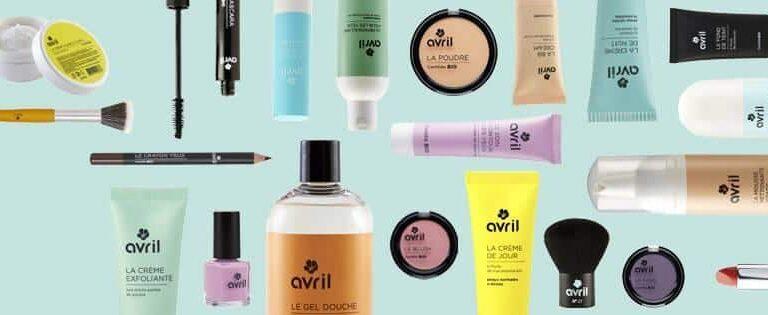 Mon avis sur le maquillage bio et pas cher de chez Avril beauté