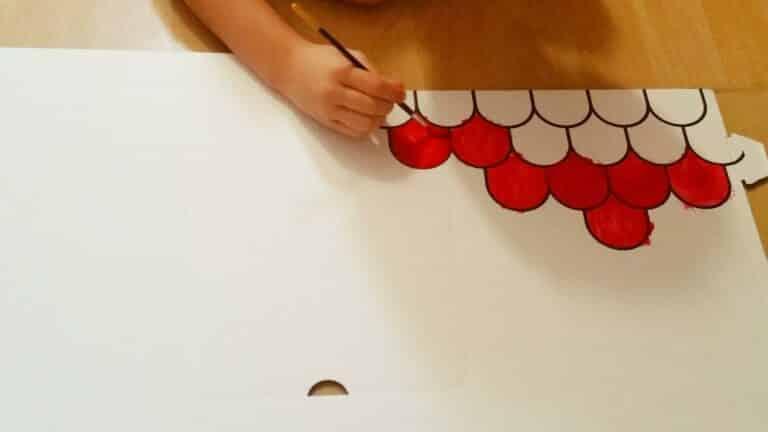 Du carton,de la peinture et 6 petites mains: Découverte de la cabane Wiplii !