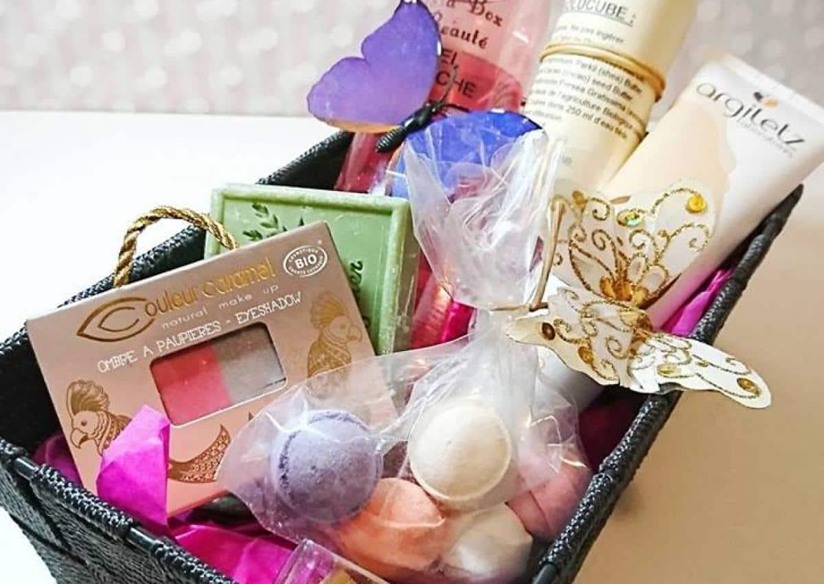 box beauté produits bio - Panier cadeau