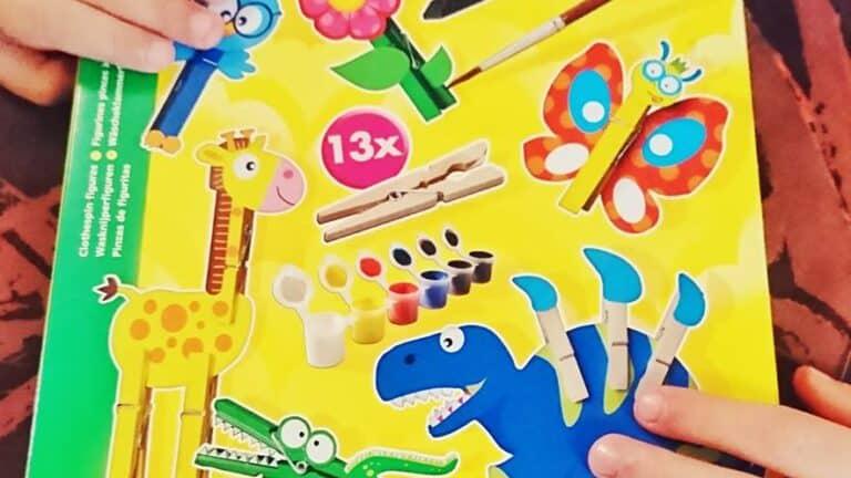 Les activités créatives avec SES / Les Figurines en pince à linge