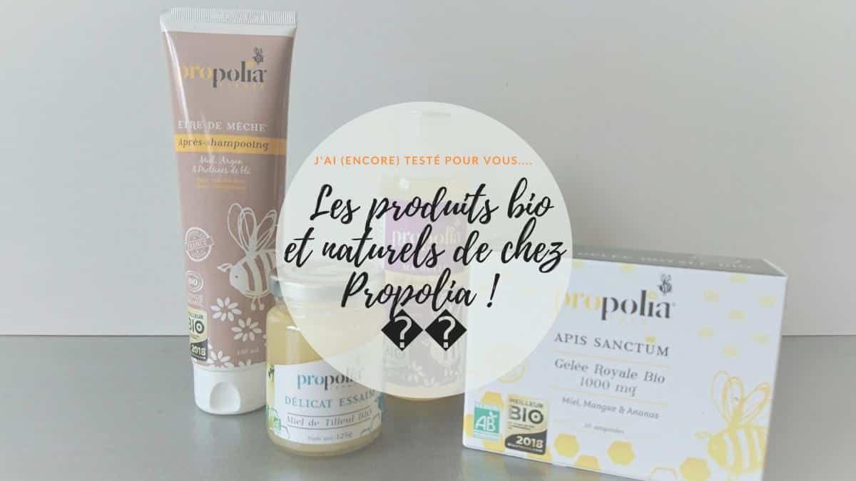 produits bio naturels Propolia - Lotion