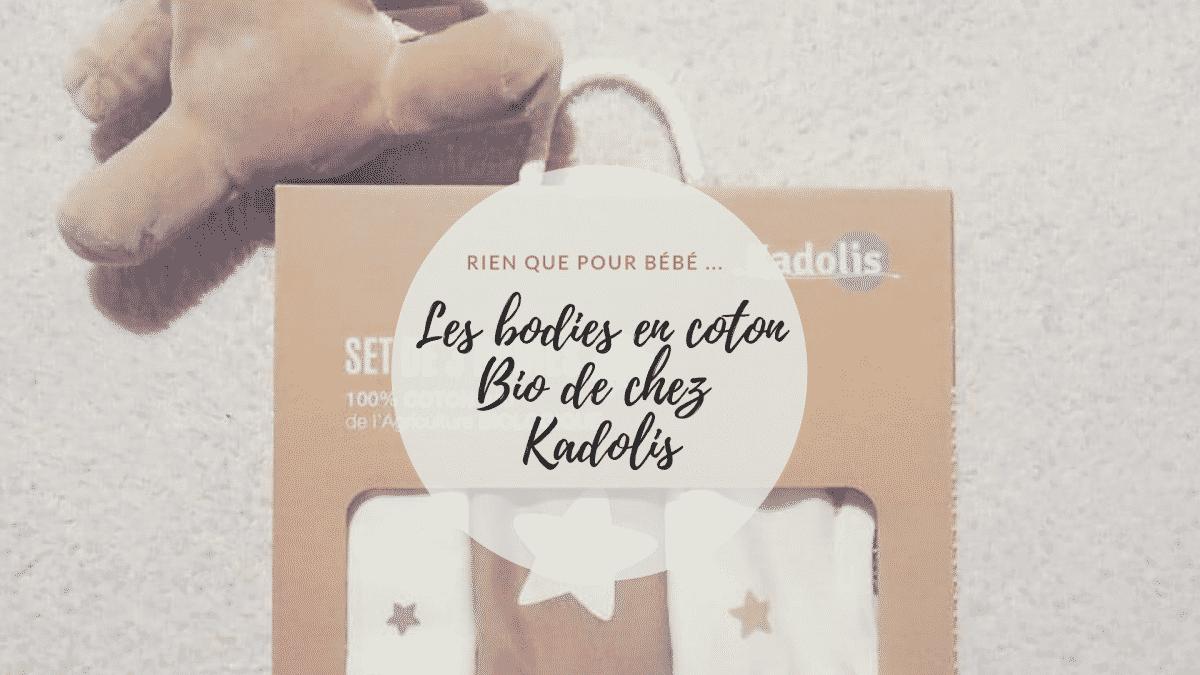 bodies coton Bio Kadolis bébé - Mode
