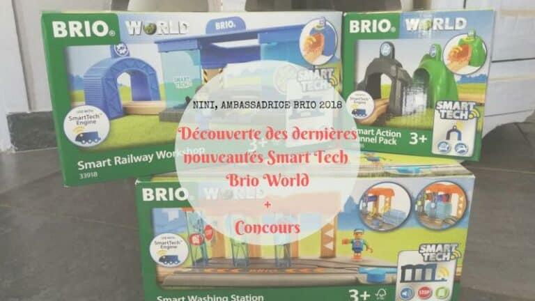 Découverte de l'atelier de réparation et de la station de lavage Smart Tech BRIO + [CONCOURS]