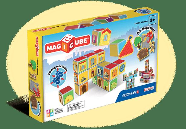 Idée cadeau : Magicube, des cubes magiques pour amuser les enfants