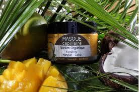 J'ai testé le masque capillaire Keratine Mangue coco d' Aquasilice