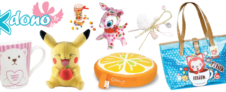 Kdono.fr, la boutique kawaii et girly