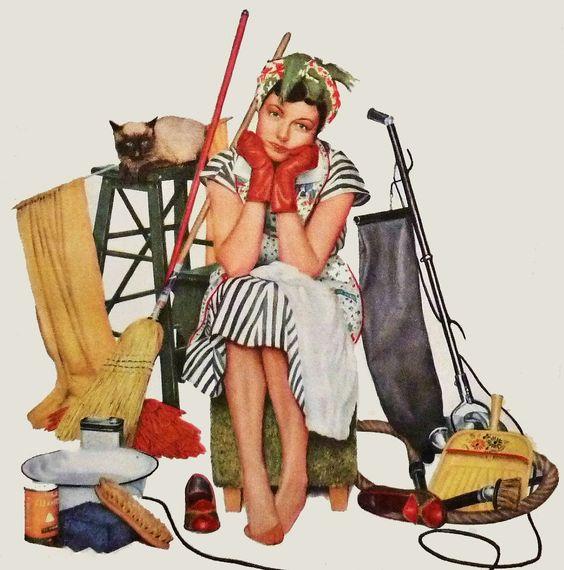 Le ménage, c'est la galère !