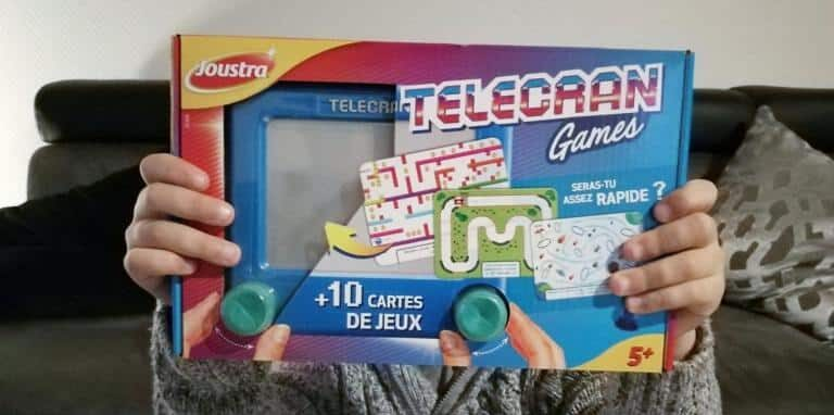 Découverte du télécran Games de chez Joustra