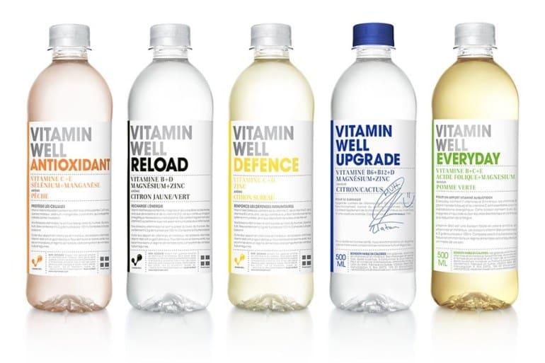 boissons Vitamin Well France - Boisson énergisante