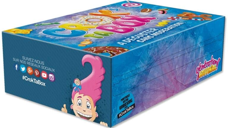 Crok' Ta Box, la box gourmande de Génération souvenirs