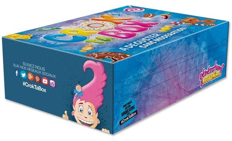 Génération souvenirs Crok' Ta Box - Bonbons