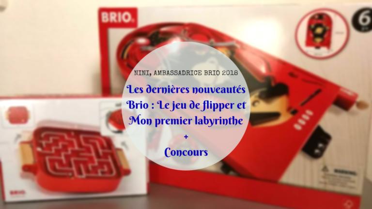 Les dernières nouveautés Brio : Le jeu de flipper et Mon premier labyrinthe +[concours]