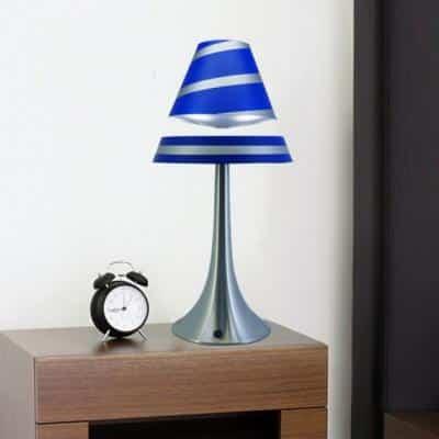 lampe en levitation althuria bleue grand format9548