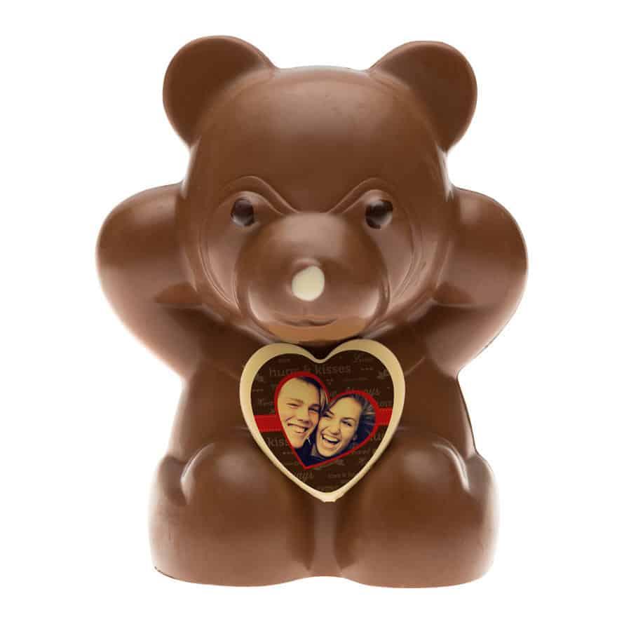 ours en chocolat au lait