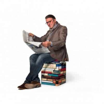 tabouret en carton rat de bibliotheque9548