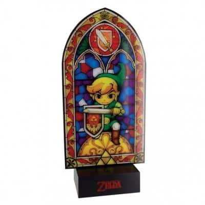 zelda veilleuse vitrail link light9548