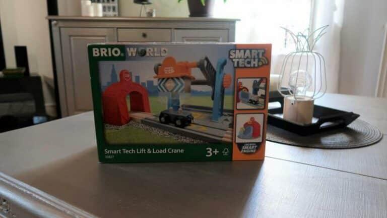 Découverte Brio Smart Tech: La Grue de chargement de marchandises