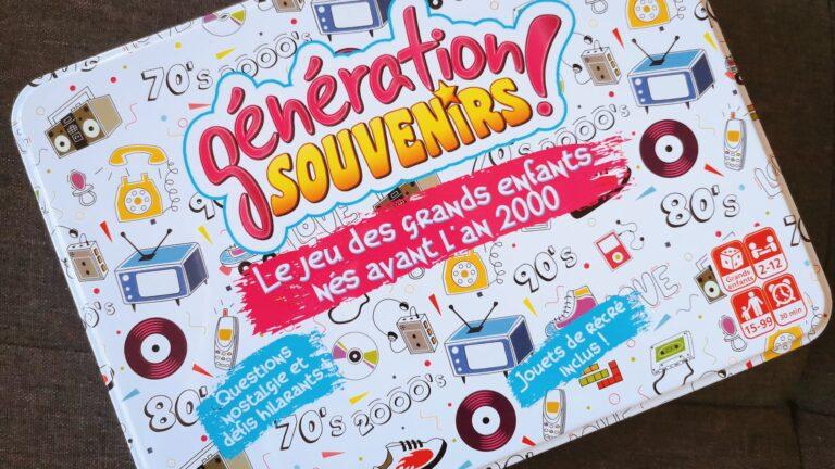 Idée Cadeau: Génération Souvenirs – Le jeu qui vous fera retomber en enfance!