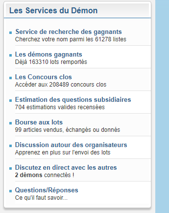 selction concours