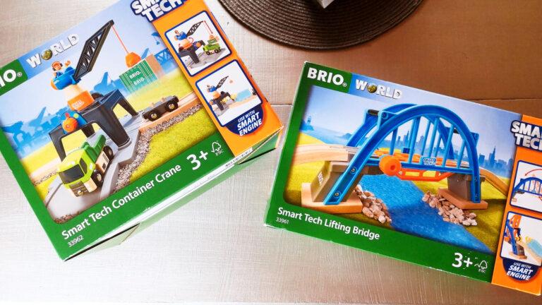 Découverte Brio : le pont levant & la grue de chargement de conteneurs