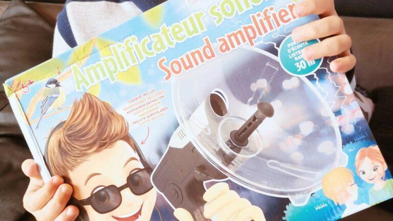 On a testé l'Amplificateur Sonore de chez Buki pour écouter les sons de la nature