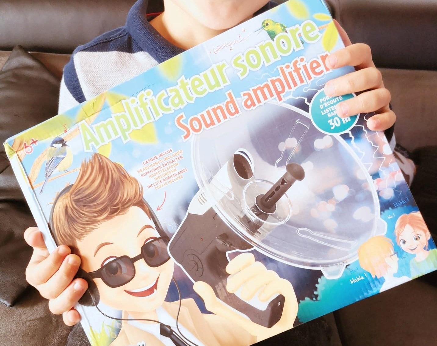 Amplificateur Sonore de chez Buki jouet nature nouveauté - Flore