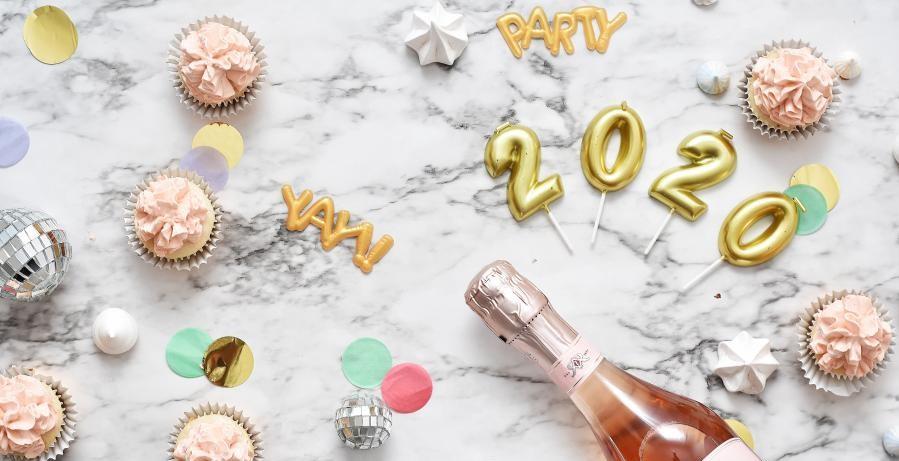 Top 5 des résolutions 2020 nouvel an bonnes année bases - Feux d'artifice