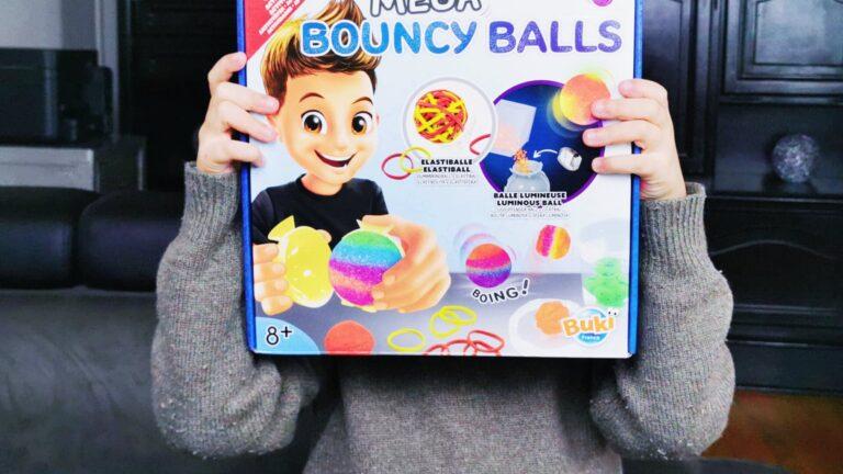 Comment fabriquer des Méga Balles Rebondissantes avec Buki ?