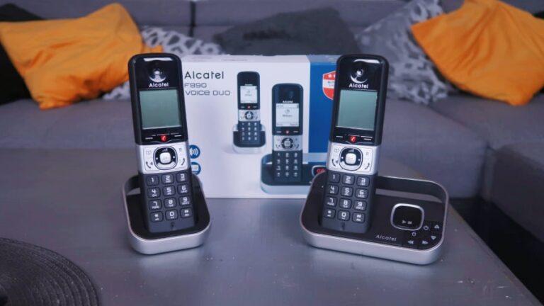 Retrouvez Votre Tranquillité grâce au Téléphone Fixe Alcatel F890