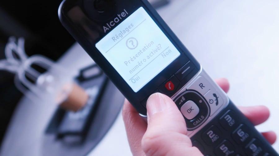 Alcatel duo Voice  F890